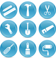 Tools of the trade vector image vector image