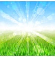 Summer day - background vector image