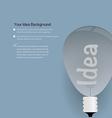 Idea Template vector image vector image