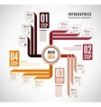 Infographics to describe the process vector image