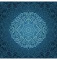 Mandala patternOrient ethnic background vector image