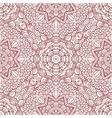 Mehndi henna design seamless pattern vector image