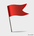 Red Flags vector image