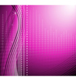 Sparkling modern purple background vector image