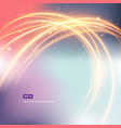 abstract background gradient with light fire in vector image