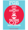 For every minute vector image
