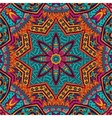 Abstract Tribal ethnic seamless pattern ornamental vector image
