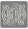 icon with celtic art and ethnic ornaments for your vector image