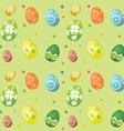 seamless tile easter egg background 2902 vector image