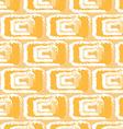 yellow pattern ikats vector image