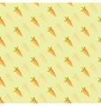 background of orange carrots vector image vector image