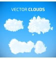 cloud set Blue sky with clouds vector image vector image