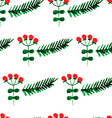 Watercolor background for Christmas vector image