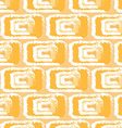 yellow pattern ikats vector image