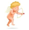 Cherub Baby Boy Angel Child Cartoon Character vector image