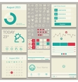 Set elements used for user interface vector image