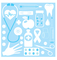 medical pattern vector image