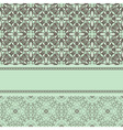 vintage pattern with frame for your text vector image