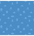 UFO seamless wallpaper vector image