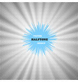 halftone background vector image