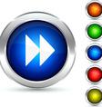 Forward button vector image
