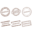 Fashion stamps vector image