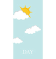 Day concept vector image