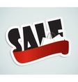 Big Sale Label Sign for Your Business vector image vector image