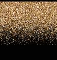 golden light ornament for cover congratulation vector image
