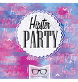 Hipster Party vector image