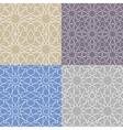 Arabic islamic seamless pattern setGeometrical vector image