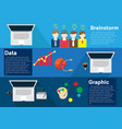 concept business process vector image