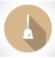 broom icon vector image