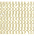 Twisted gold rings grunge seamless pattern vector image