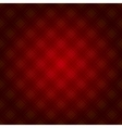 Red Fabric Tartan Background vector image