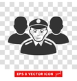 Army Team EPS Icon vector image