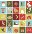 Advent Calendar Christmas vector image vector image