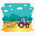 agricultural and farming concept vector image