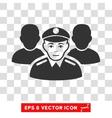 Army Team EPS Icon vector image