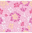 Pink abstract triangles seamless pattern vector image