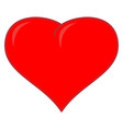 red heart sign 3612 vector image