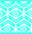 tiffany blue colored tribal navajo seamless vector image