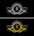 Luxury logo 1 vector image