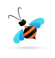 bee icon and element vector image