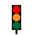 traffic light 3912 vector image