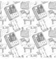 interior seamless pattern vector image vector image