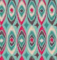 Boho vintage tribal shape pattern background vector image