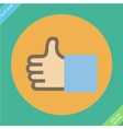Like or thumbs up - vector image
