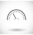 Speedometer icon vector image vector image