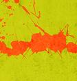 Bright Green Paint Splash Background vector image vector image